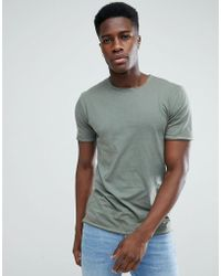 Only & Sons - T-shirt In Organic Cotton - Lyst