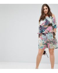 ASOS - Mixed Floral Print Shorts - Coord - Lyst