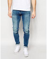 Pepe Heritage | Pepe Jeans Finsbury Skinny Jeans In Powerflex Light | Lyst