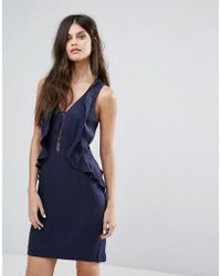 Y.A.S - Pedrine Ruffle Dress - Lyst