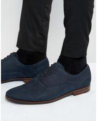 ALDO - Wen Suede Oxford Shoes - Lyst
