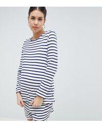 ASOS - Asos Design Maternity Popper Breton Nursing Set - Lyst