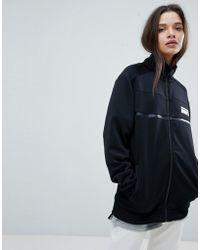 New Balance - Track Jacket In Black - Lyst