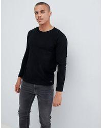 Esprit - Long Sleeve Top In Black - Lyst