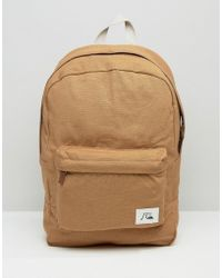 Quiksilver - Quicksilver Night Track Backpack - Beige - Lyst
