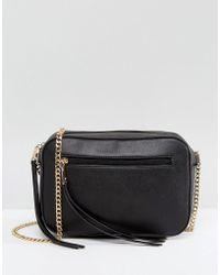 Across Body Bag With Tassel - Red Park Lane kZR3pVx1KO