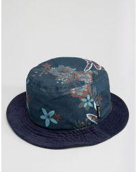 Billabong - Floral Bucket Hat - Lyst