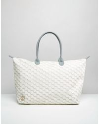 Mi-Pac - Mi Pac Check Shopper Bag - Lyst