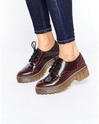Monki - Lace Up Shoe - Lyst