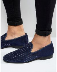 House Of Hounds - King Studded Loafers - Lyst