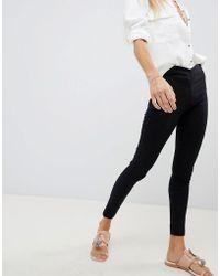 Free People - Easy Goes It Skinny Jeans - Lyst