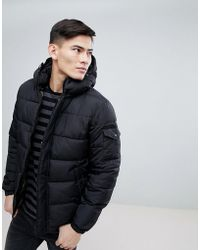 Esprit - Padded Parka With Fleece Lined Pockets - Lyst