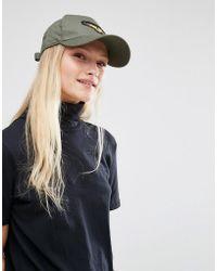 New Look - Military Badge Cap - Lyst
