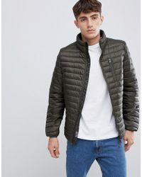 Esprit - Ultralight Thinsulate Puffer Jacket In Khaki - Lyst