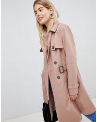 New Look - Structured Mac Trench Coat - Lyst