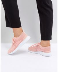 ASOS - Asos Delta Knit Lace Up Trainers - Lyst