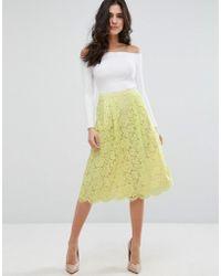 Darling | Lace Skater Skirt | Lyst