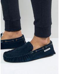 Lambretta - Slippers In Navy - Lyst
