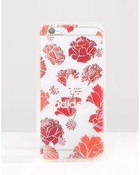 Adidas Originals | Originals Translucent Iphone 6/6s Case In Floral Print - Multicolour | Lyst