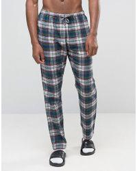 Esprit - Pyjamas In Check - Lyst