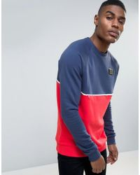 Cheats & Thieves - Panelled And Piped Sweater - Lyst