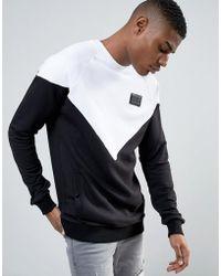 Cheats & Thieves - Windbreaker Mono Panel Sweater - Lyst