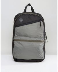 Volcom - Academy Backpack In Black - Lyst