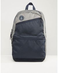 Volcom - Academy Backpack In Navy - Lyst