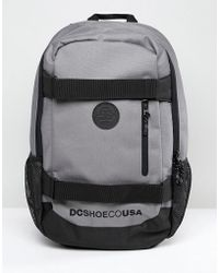 DC Shoes - Clocked Backpack In Grey - Lyst