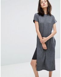 ADPT - Forever Sweat Midi Dress - Lyst