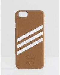 adidas Originals - Iphone 6/6s Phone Case In Khaki - Green - Lyst