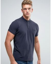 Firetrap - Oil Washed Polo Shirt - Lyst