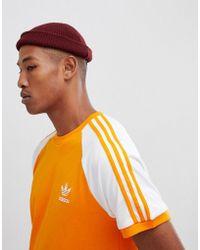 adidas Originals - California T-shirt In Orange Dh5809 - Lyst
