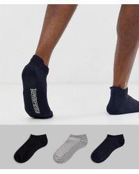 Lambretta - 3 Pack Trainer Socks - Lyst