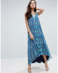 Adelyn Rae - Printed Maxi Dress - Lyst