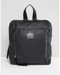 Cheap Monday - Zipsack Backpack - Lyst