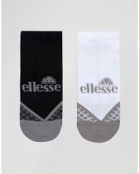 Ellesse - 2 Pack Trainer Socks - Lyst