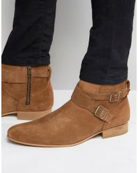 House Of Hounds - Suede Jodphur Boots - Lyst
