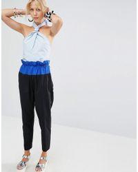 Sportmax Code | Nicia Bow Jumpsuit | Lyst
