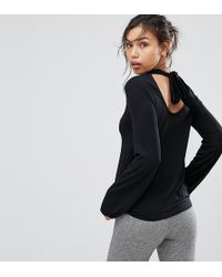 Warehouse - Polo Tie Back Long Sleeve Top - Lyst