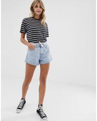 Levi's - Pantalones cortos con bajo con vuelta Extra de - Lyst