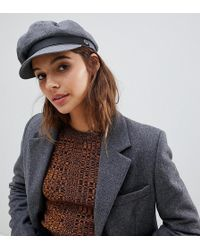 Tommy Hilfiger Military Baker Boy Hat in Black - Lyst 2465c6be26c4