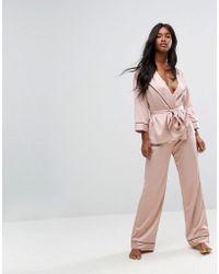Bluebella - Wren Kimono Pyjama Set - Lyst