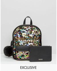 Skinnydip London - Kinnydip Lulu Sequin Backpack - Lyst