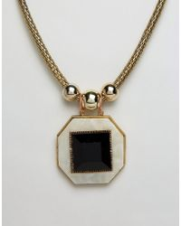 Ruby Rocks - Pendant Necklace - Lyst