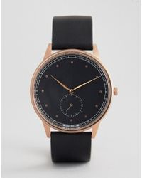 HyperGrand - Signature Black Leather Watch - Lyst