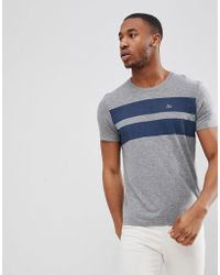 Esprit - T-shirt With Double Chest Stripe - Lyst