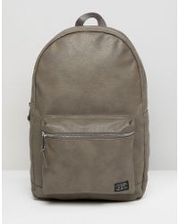 New Look   Backpack In Grey   Lyst