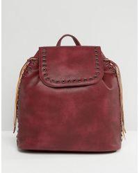 Liquorish - Backpack With Eyelets - Lyst