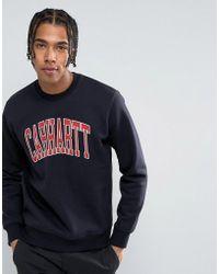 Carhartt WIP - Division Regular Fit Sweatshirt - Lyst
